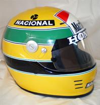Replica casco Senna